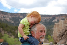 Bella and Pappap at Soda Springs