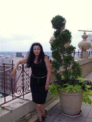 Me Looking Grumpy on the Roof of the Peabody Hotel, Memphis Tennessee
