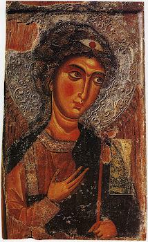 Αρχάγγελος Μιχαήλ (12 αιώνας) : Μονή Ιωάννη Χρυσοστόμου στον κατεχόμενο Κουτσοβέντη