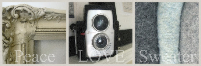 peace love sweater