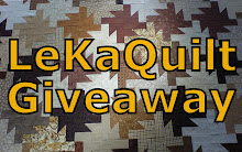 LeKaQuilt Giveaway I