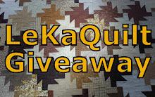 LeKaQuilt Giveaway I