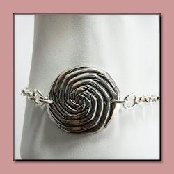 Spiral Mandala Bracelet