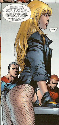 Makes an ass out of you and Black Canary