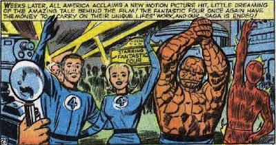 Of course, we had to include Von Doom on the space flight, and change his origin, and make a terible looking suit for the Thing, and...