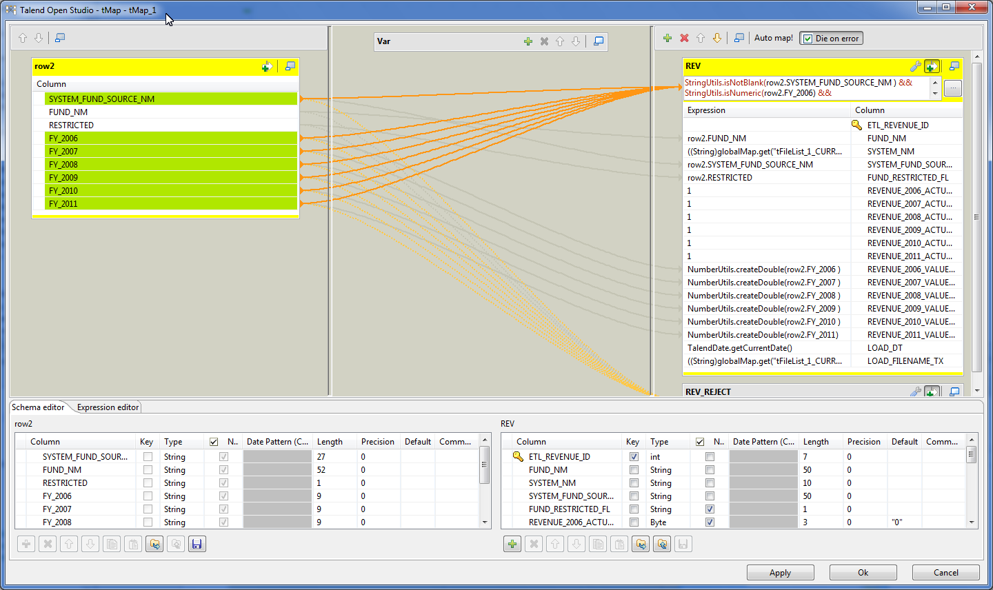 Bekwam Blog: Staging Data for ETL Processing with Talend Open Studio