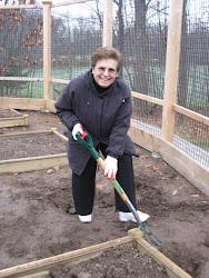 Mrs. Cilli lends a helping hand!