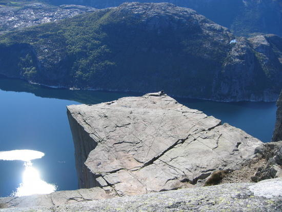 Pulpit Rock or Preikestolen Amazing Mountain - Norway, Photos.