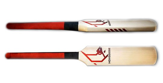 cricket bat logo. This cricket bat has a