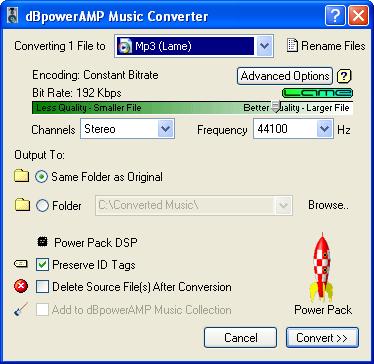 Cómo convertir de MKV a DVD DbPowerAmp_Conversion