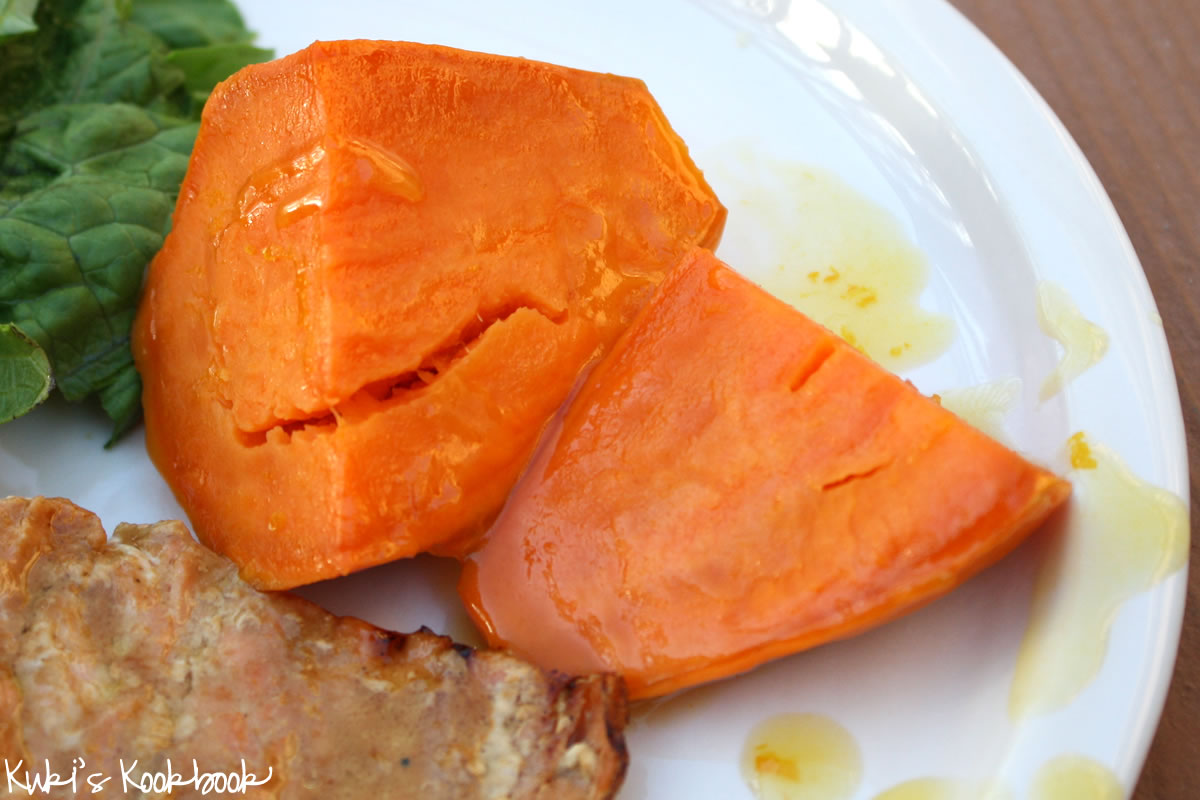 Glazed Sweet Potatoes Orange-glazed sweet potatoes