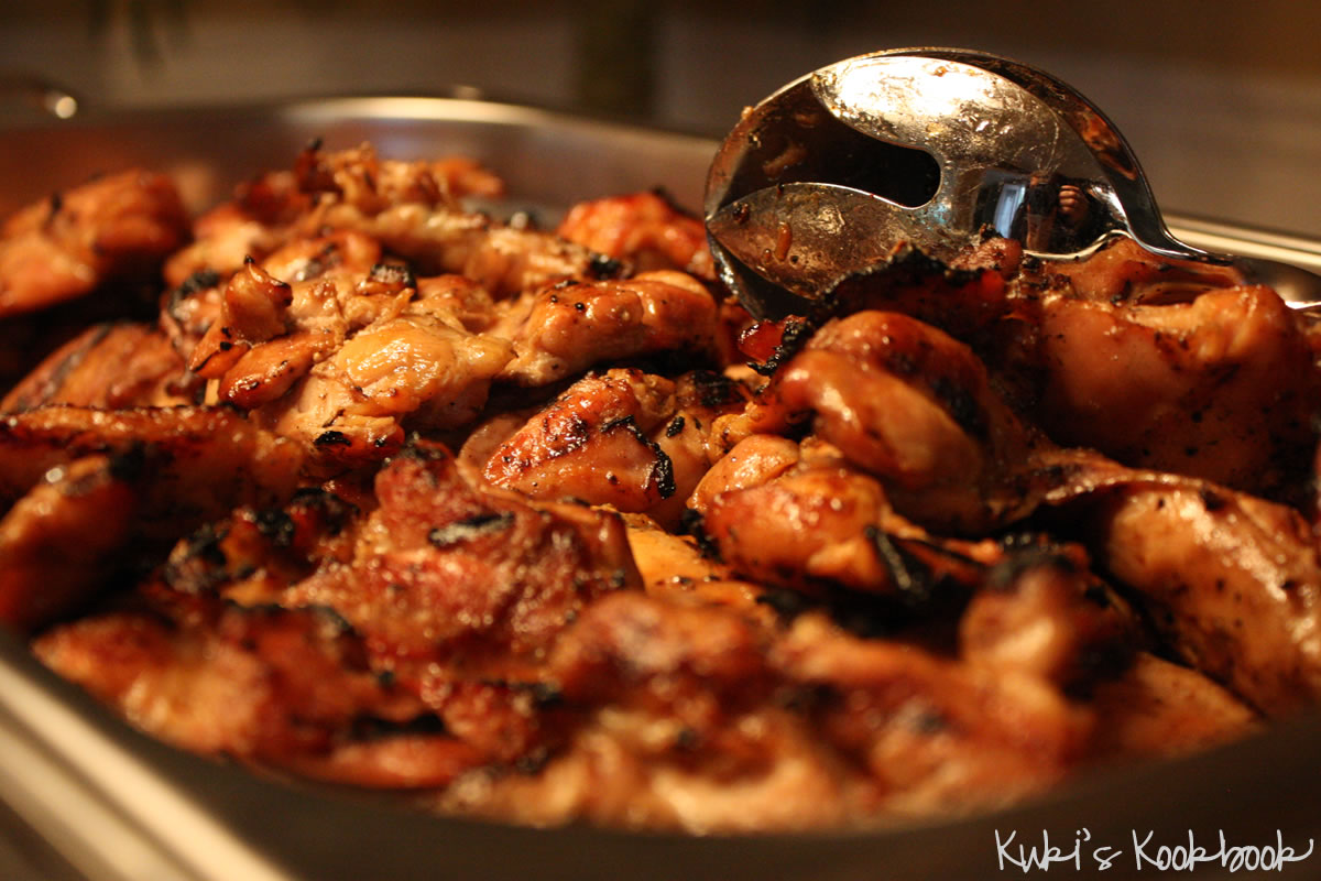 Teriyaki Chicken- Hawaiian Style