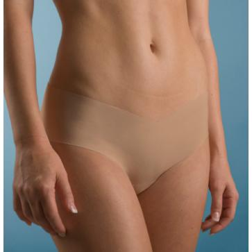Nude underwear in straightforward, seamless style. Grab a couple thongs and ...