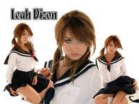 School Girl Leah Dizon