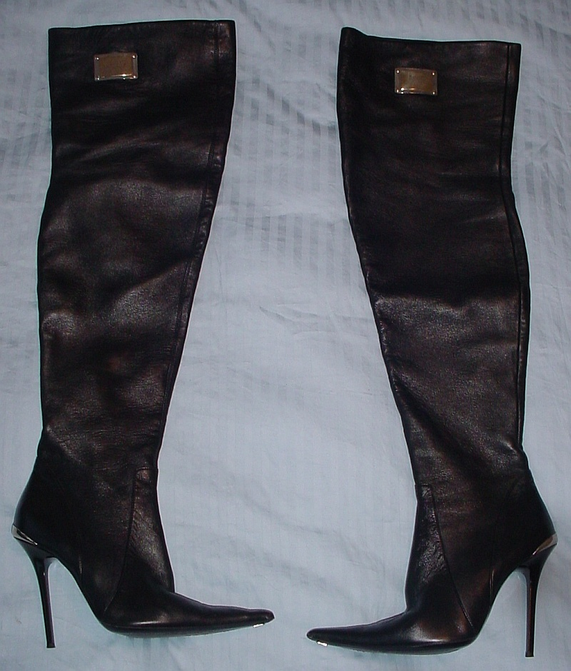 ebay leather italian thigh boots quot worn to an embassy quot