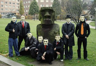 Where the hell is Anonymous?