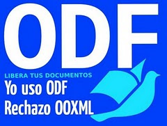 Usa .odf  LIBERA TUS DOCUMENTOS