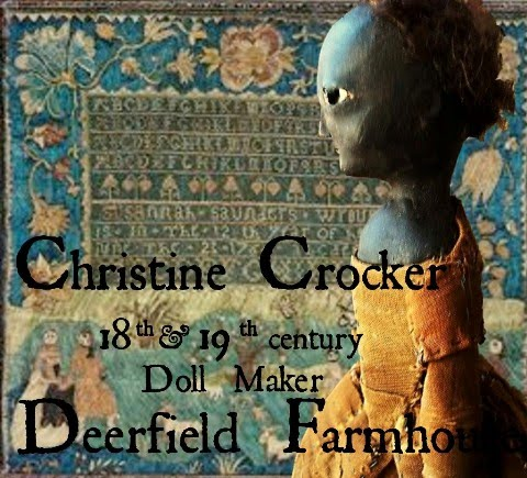 Deerfield Doll House  ~Christine Crocker~Dollmaker