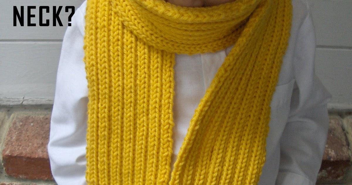 Knitting Pattern For Pencil Scarf : zakka life: Knit Pencil Scarf