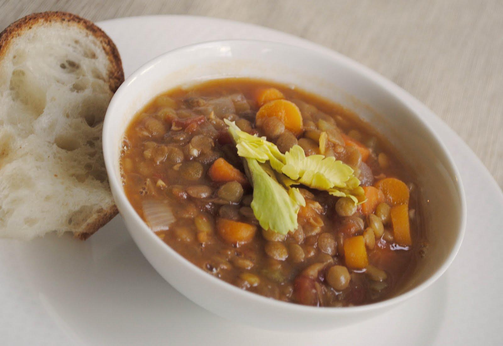 zakka life: French Lentil Soup Recipe