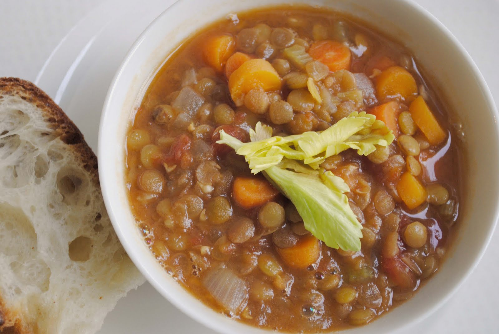 zakka life: French Lentil Soup Recipe