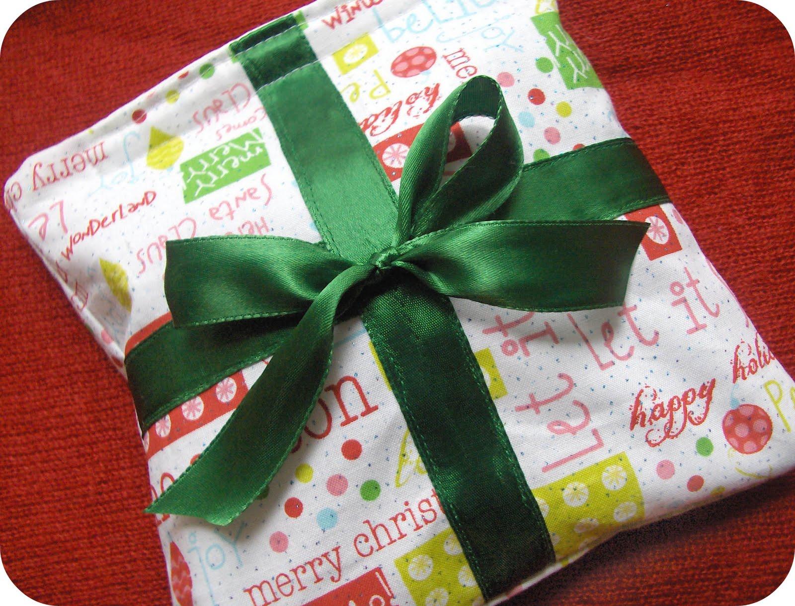 Zakka life craft project eco christmas gift wrap