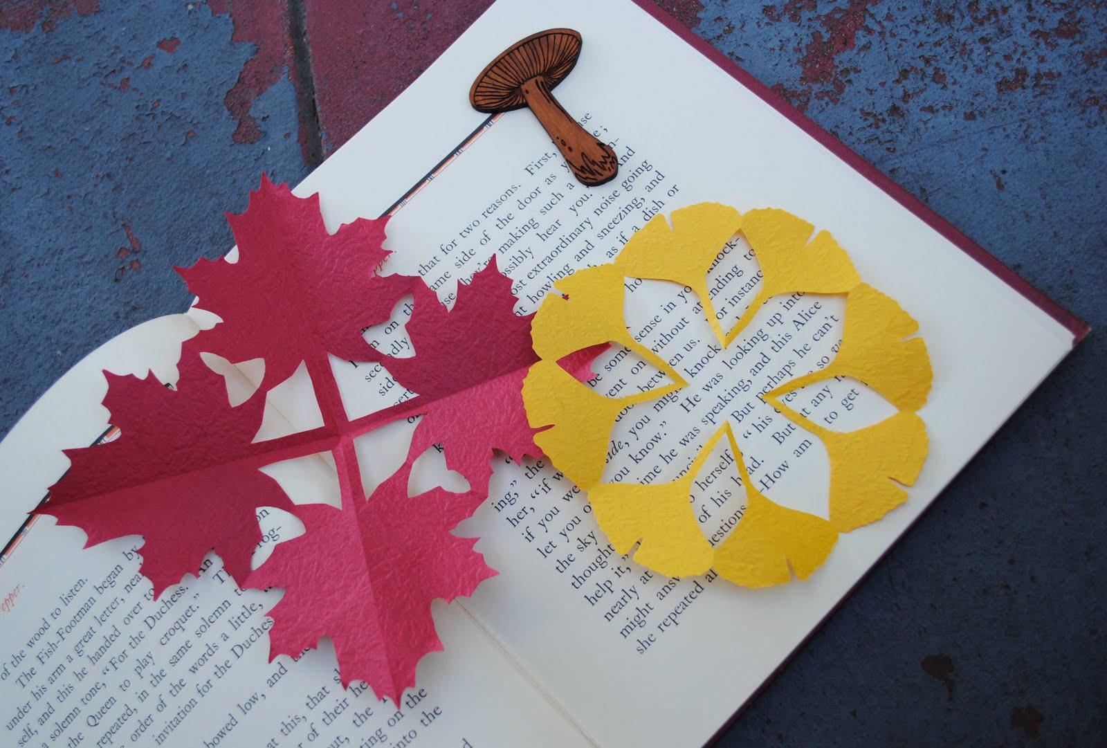 Zakka life craft kirigami fall decorations for Kirigami paper art