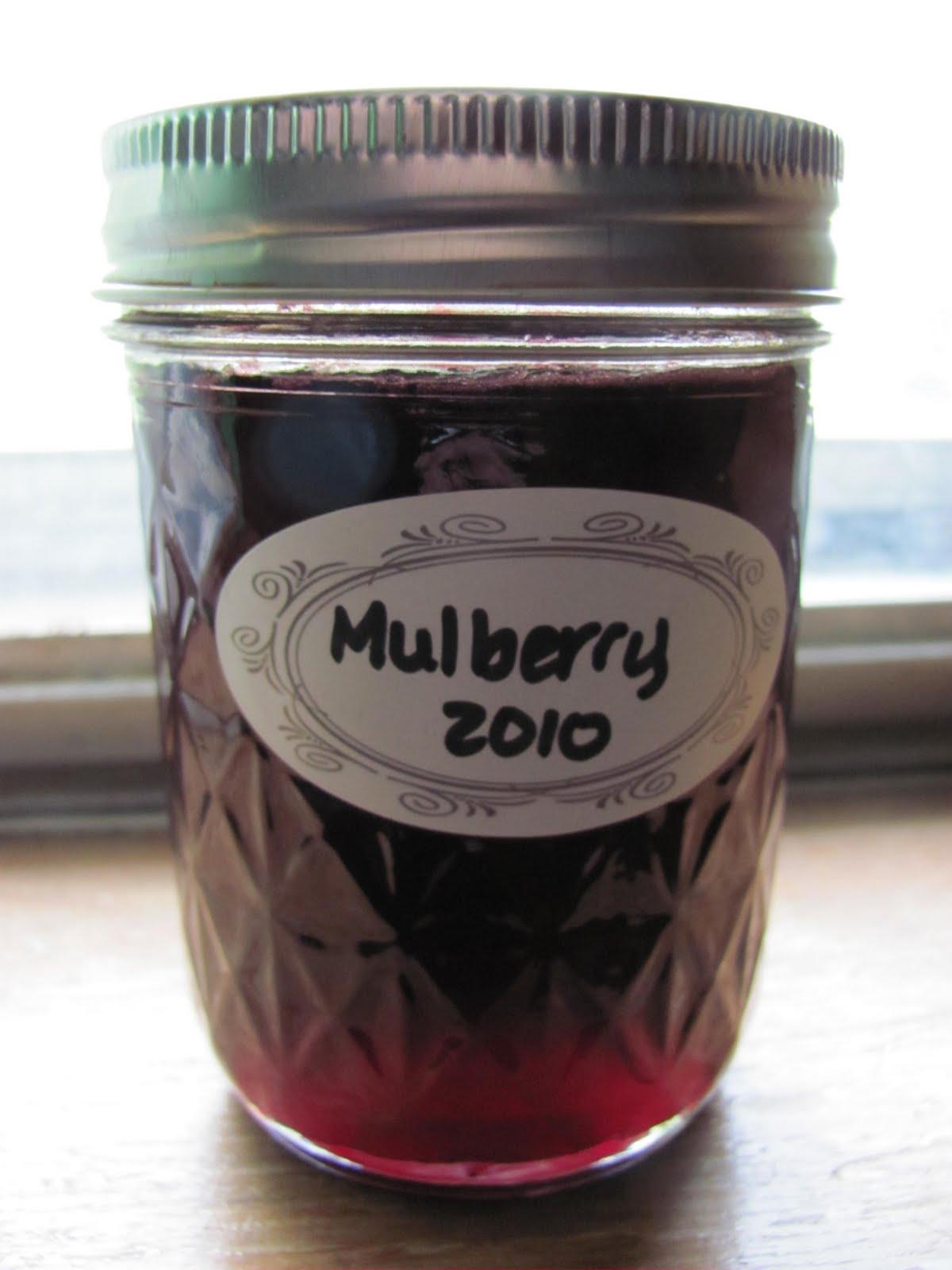 HickMama: Mulberry Jelly Recipe