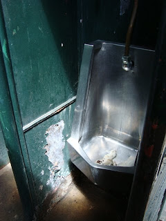 Cast iron urinal beneath Sydney Harbour Bridge