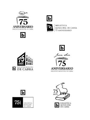 Juan carmona logotipo para la biblioteca de cabra for Logotipos de bibliotecas