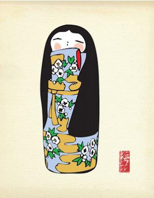 Trendtjie 2 – Kokeshi dolls