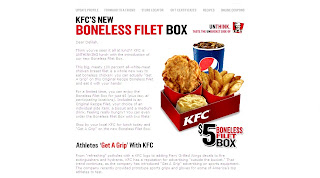 kfc boneless fillet box