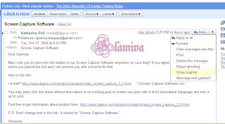 scam katherine poll screen capture software