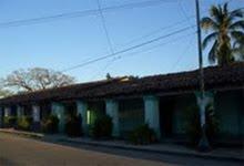"""Corredor de las casas de doña Delfina Ernult y """"Las tías Ernult"""" (Leontina, Irene y Hermelinda)"""