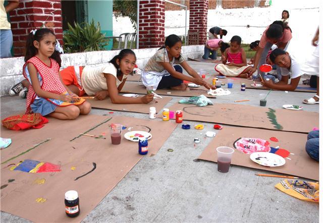 Curso de pintura impartido por Claudia López 2008