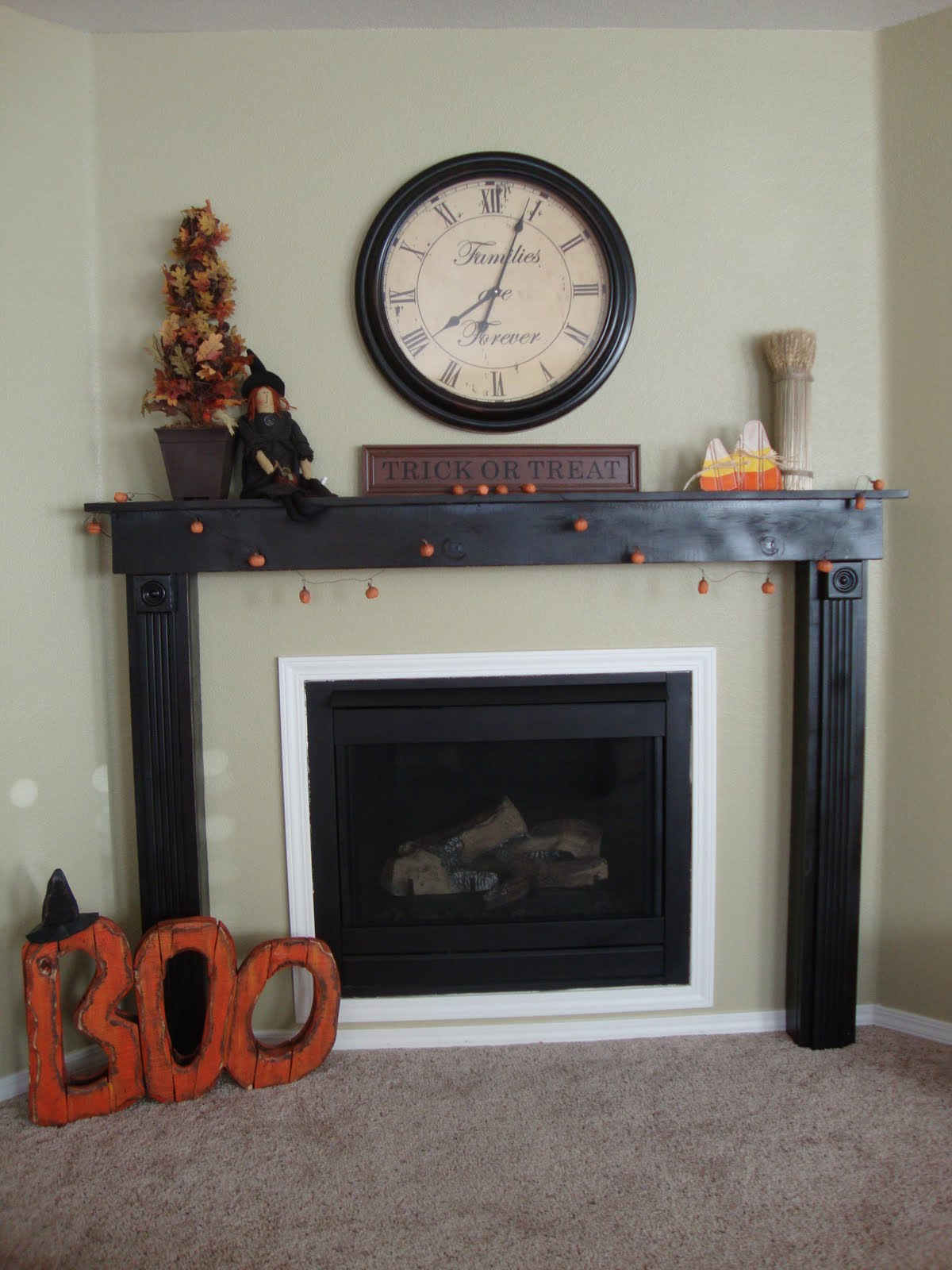 fireplace mantle just between friends
