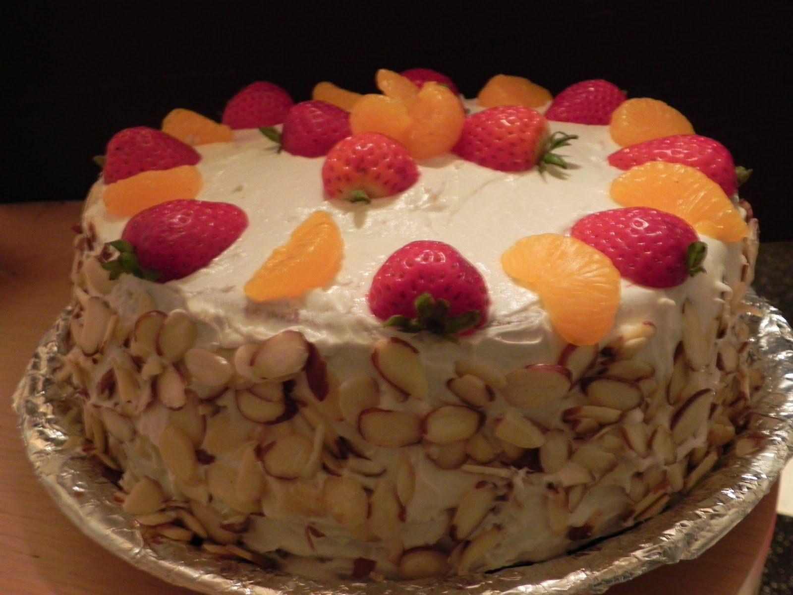 Preethi Bhojan French fruit cake