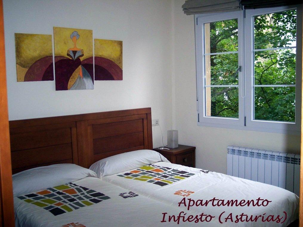 Los telarines de lula apartamento - Dormitorio dos camas ...