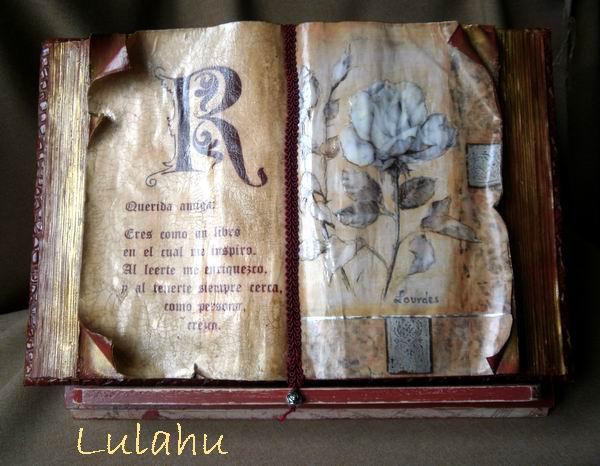 Libro antiguo - Como hacer un libro antiguo ...