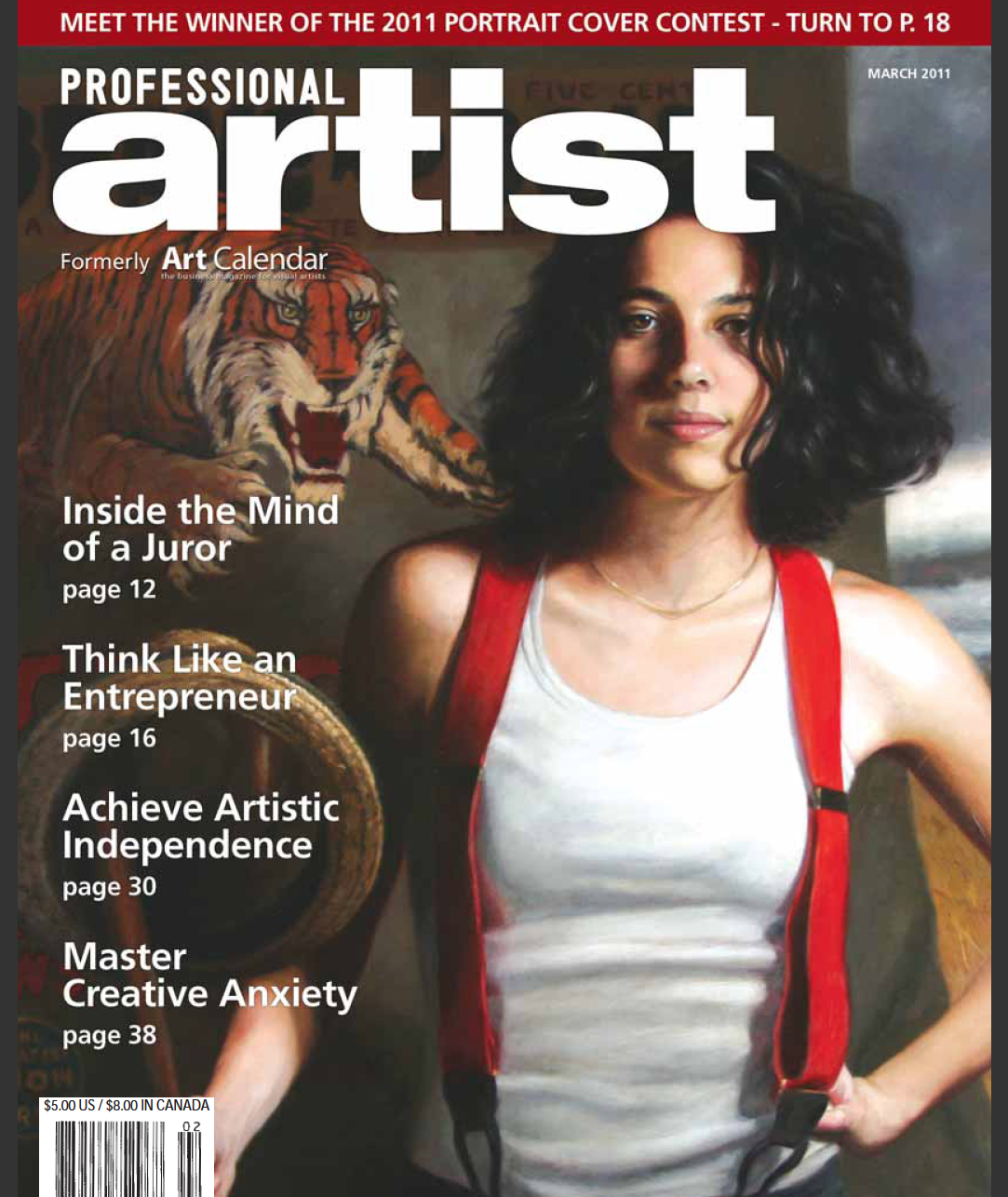 Art Calendar Business Magazine : Terry strickland art calendar magazine changes it s