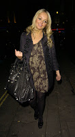 Jennifer Ellison in Black Nylons