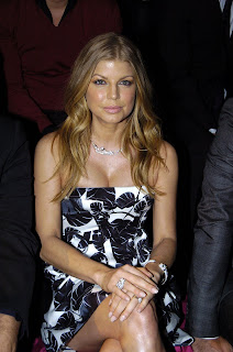 Fergie Big Cleavage