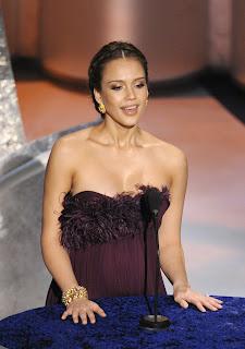 Jessica Alba at The Oscars