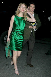 Claire Danes in a Tight Green Dress