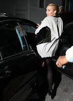 Lindsay Lohan in Black Nylons