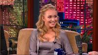 Hayden Panettiere 'Tonight Show' Screen Caps