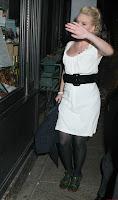 Scarlett Johansson  in Black Nylons