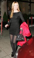 Geri Halliwell in Black Nylons