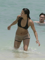 Michelle Rodriguez Bikini Candids