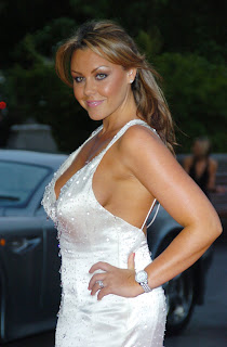 Michelle Heaton Cleavage Shots
